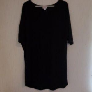 NWOT Black LulaRoe Irma Size XL